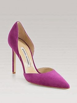 PANTONE Color of the Year 2014 - Radiant Orchid 2014 in Fashion - Manolo Blahnik