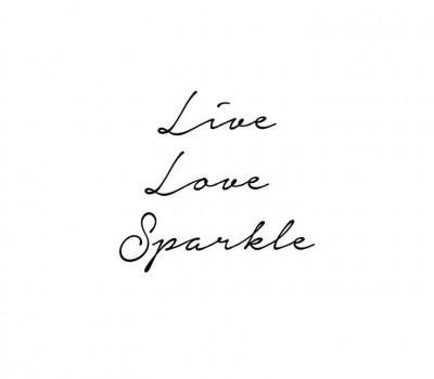 mensaje, live, love, sparkle